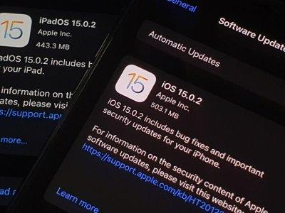 苹果发布iOS 15.02修复安全问题