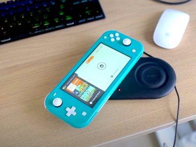 为任天堂Switch Lite添加无线充电功能有妙招!