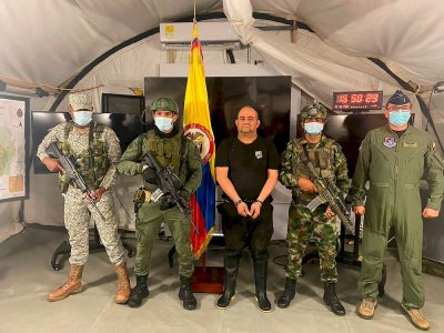 Colombia prepares to extradite drug lord 'Otoniel' to US