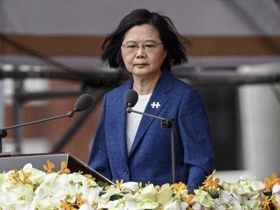 台湾不会屈服!蔡英文:没人能逼我们走向北京设定的路径