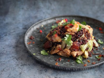 How you can turn the odds and ends in your pantry into this 'fried rice surprise'
