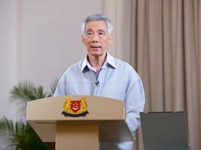 """新加坡""""与病毒共存""""后确诊飙升!李显龙:尚须3至6个月进入新常态"""
