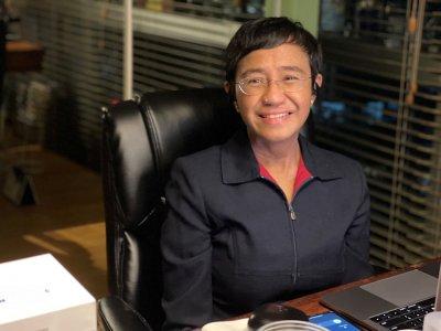 菲律宾总统府打破沉默 恭贺瑞萨获和平奖