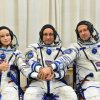 Russian crew return to Earth after filming first movie in space
