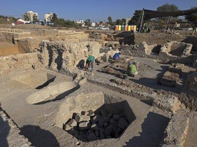 Israeli archaeologists uncover 'world's largest' Byzantine-era winery