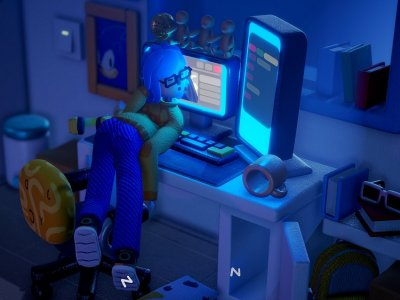 'Exhausted Man' PC game takes tiredness to the next level (VIDEO)