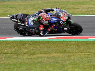 Quartararo wins MotoGP world title after Bagnaia crashes out at Misano