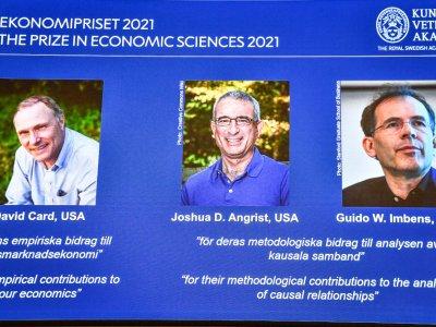 Trio win Nobel Economics Prize for 'natural experiments'
