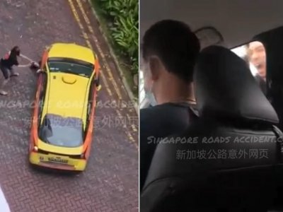 Singaporean man charged with using rear windscreen wiper to hit taxi which had baby on board