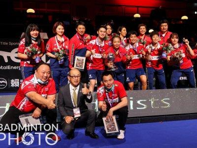 3比1挫卫冕冠军日本 中国女队第15度捧尤杯!