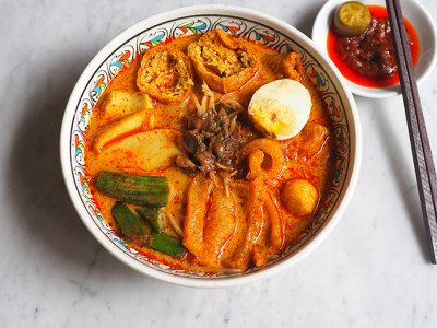 Phase Three takeaway: Enjoy this thick, fragrant curry mee from PJ Kota Damansara's Woltter Restaurant & Cafe