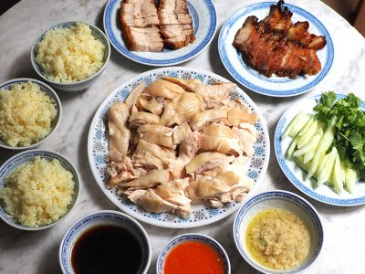 Phase One takeaway: Hit up Cheras Taman Maluri's Restoran Hou Kai Fong for smooth poached chicken rice, fish noodles and pork noodles