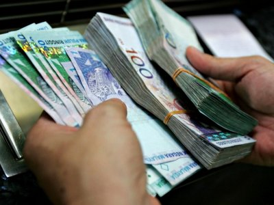 Ringgit ends lower against US dollar for second day running