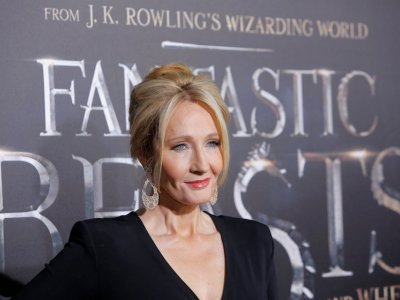 JK Rowling releases Christmas book inspired by son's toy pigs