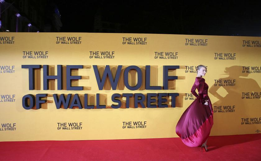 File photo shows cast member Margot Robbie arriving for the UK premiere of 'The Wolf of Wall Street' at Leicester Square, in London, January 10, 2014. — Reuters pic