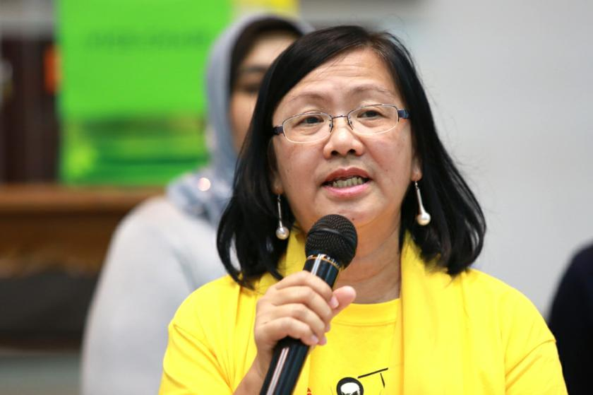 Maria Chin Abdullah said more information about the fifth Bersih rally will be revealed next week. — Picture by Saw Siow Feng