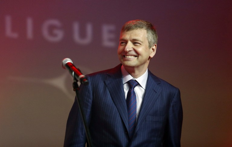 Two entities have made claims against Yves Bouvier — Accent Delight International Ltd and Xitrans Finance Ltd — and they are connected to the family trust of Russian billionaire Dmitry Rybolovlev (picture). — AFP pic