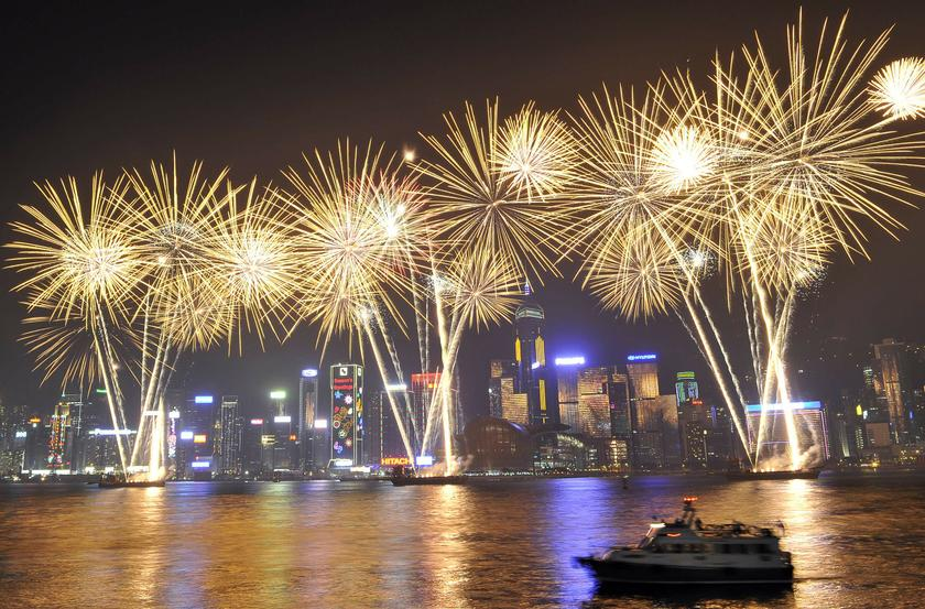 Hong Kong's popular New Year's Eve fireworks will be cancelled for the first time in a decade.  — Reuters pic