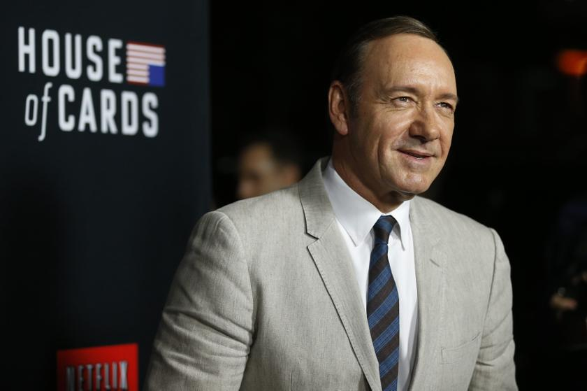 Cast member Kevin Spacey poses at the premiere for the second season of the television series 'House of Cards' at the Directors Guild of America in Los Angeles February 13, 2014. — Reuters pic