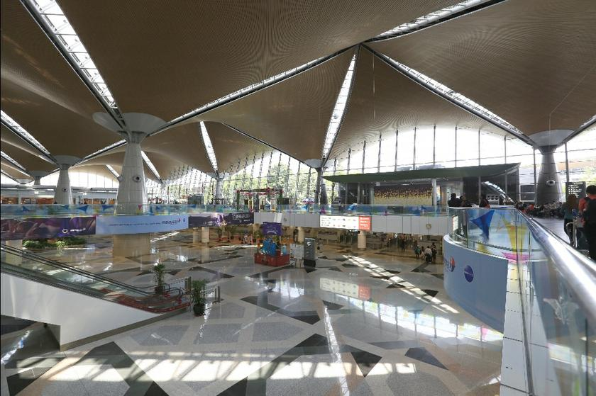 A view of the KLIa departure hall.  — Picture by Saw Siow Feng