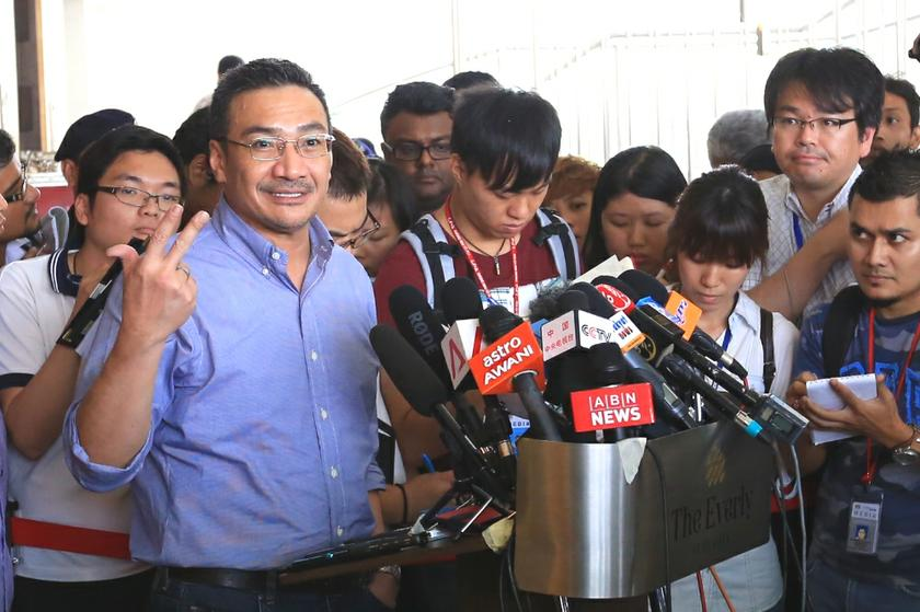 Hishammuddin said Malaysia's moderation agenda would not be defined by the incident, which he claimed had been blown out of proportion. ― Picture by Saw Siow Feng