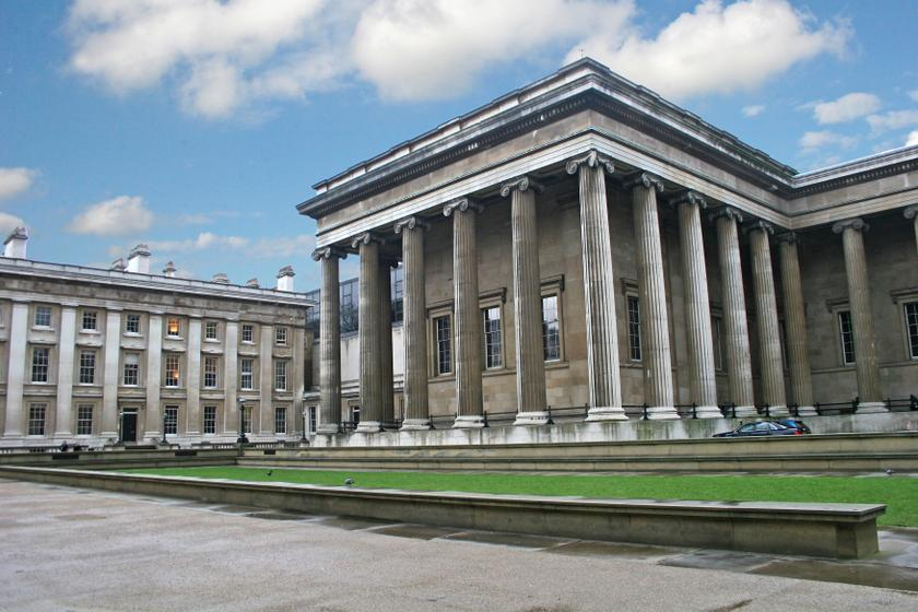 London's British Museum is among those participating in Twitter Museum Week. — AFP pic