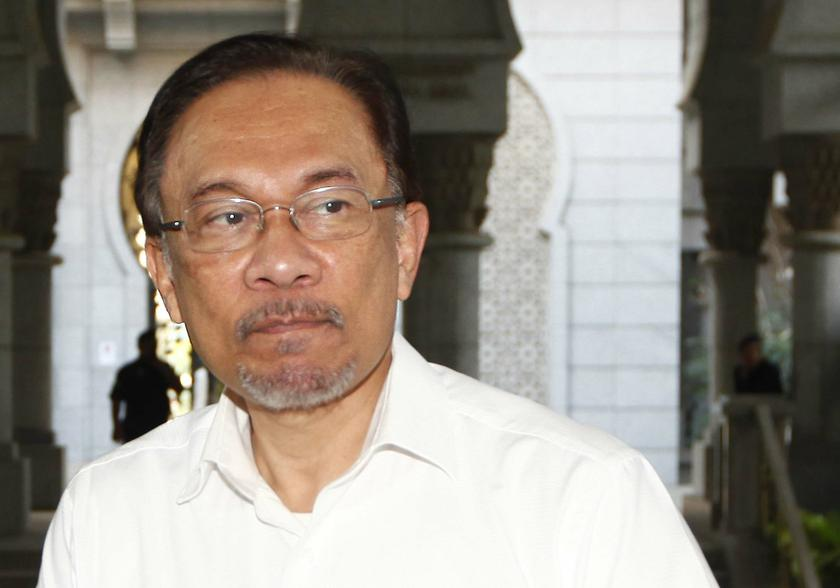 PKR said Datuk Seri Anwar Ibrahim was admitted into the Kuala Lumpur Hospital earlier today and remains under watch. — Reuters pic