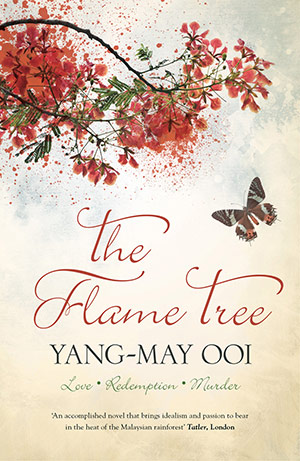 Ooi's first novel The Flame Tree is a murder thriller set in London and Malaysia