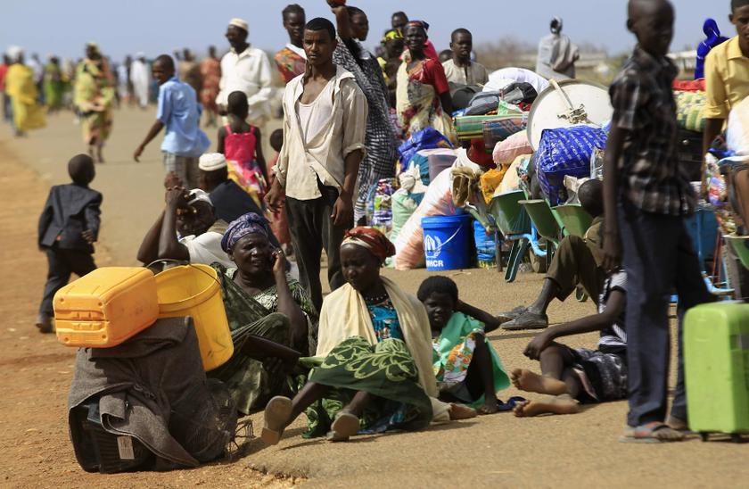 Most recently civilians have been uprooted from the opposition-held town of Leer, in an oil-rich part of Unity State, and from Kodok in Upper Nile State, the International Committee of the Red Cross said.