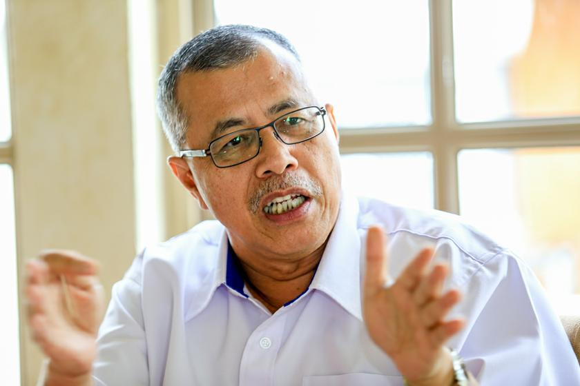 A week prior to the failed briefing, Kidex chief executive officer Datuk Mohd Nor Idrus denied claims that they had not submitted all relevant documents including a TIA to build the RM2.2 billion super-elevated highway. — Picture by Saw Siow Feng