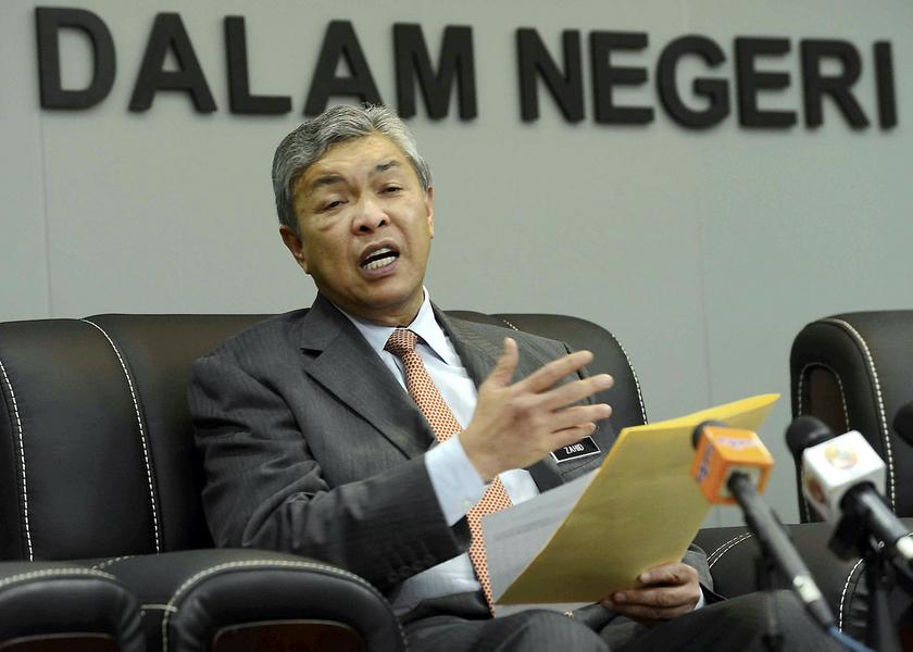 Home Minister Datuk Seri Ahmad Zahid Hamidi said it was vital for content on the Internet, including movies, to suit local culture and sensitivity. — Bernama pic