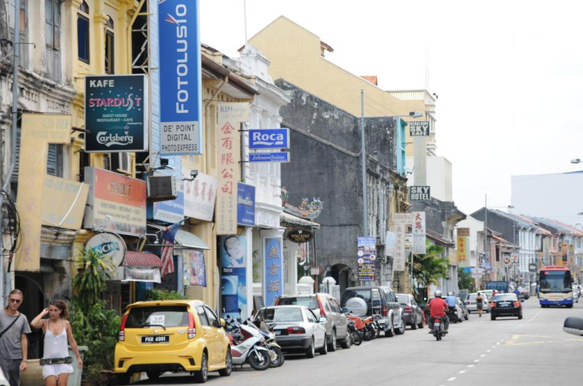 "The Star Online reported Friday that 12 ""transvestites"" were arrested in George Town for various offences, including gang robbery and cross-dressing. File picture shows a general view of  George Town. — Picture by K.E.Ooi"