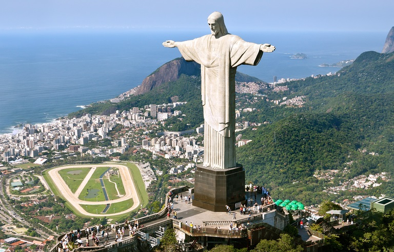 The iconic statue of Christ the Redeemer that towers over Rio de Janeiro celebrated its 90th birthday on Tuesday. — AFP pic