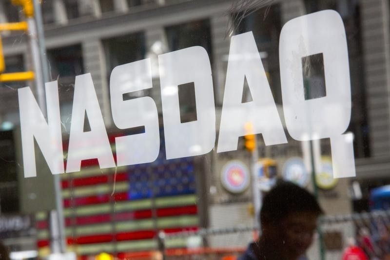 The tech-rich Nasdaq Composite Index ended 3.7 per cent higher at 13,073.82. ― Reuters pic