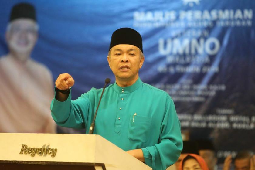 Ahmad Zahid said the entry ban on Dr Ulil Abshar Abdalla will remain until he is no longer found to be a danger to Islam. ― Picture by Choo Choy May