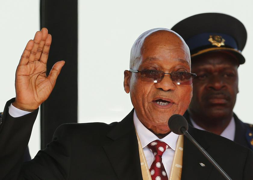 South African President Jacob Zuma has always maintained he was innocent of corruption charges. — Reuters pic
