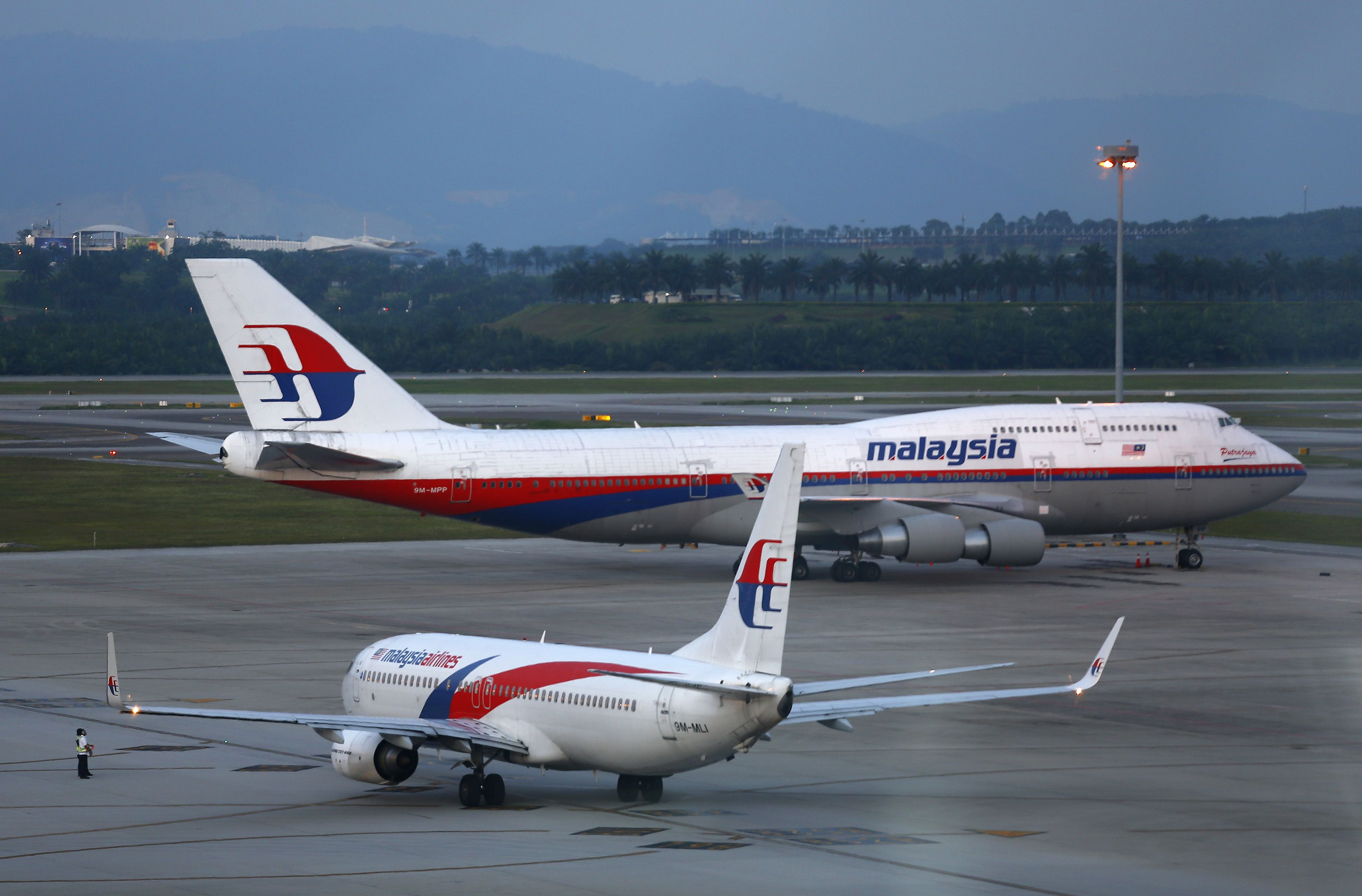 A file photo of MH370. — file pic