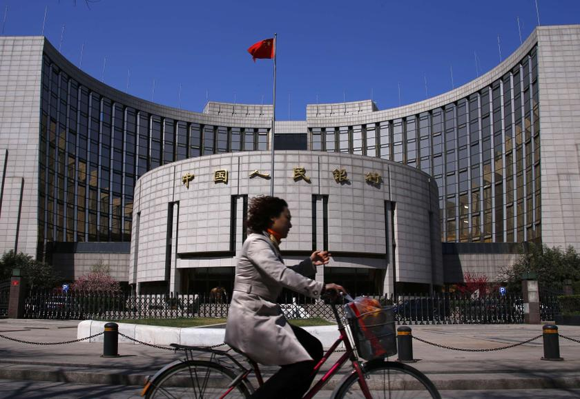The People's Bank of China sold 20 billion yuan (RM10.7 billion) of the contracts at 3.4 per cent today, according to a statement on its website. ― File pic