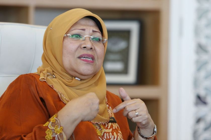 Datuk Seri Rohani Abdul Karim (GPS-Batang Lupar) said Sarawak also received a large amount of indirect allocation as announced by Finance Minister Datuk Seri Tengku Zafrul Tengku Abdul Aziz. ― Picture by Choo Choy May
