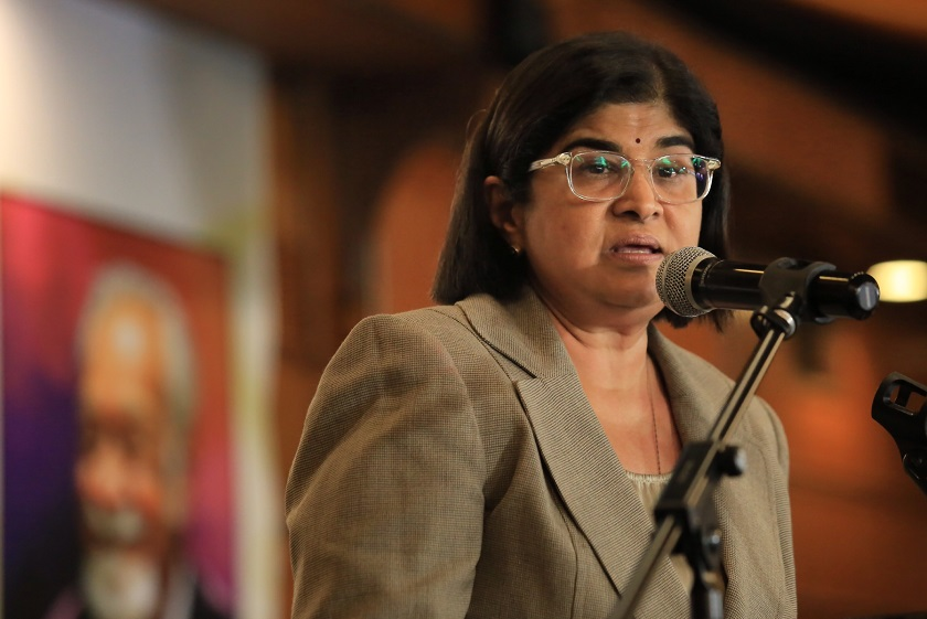 Editors of Mingguan Malaysia claimed that Negaraku is the latest attempt by Ambiga after many 'failed' rallies organised under the Bersih banner. — Picture by Saw Siow Feng