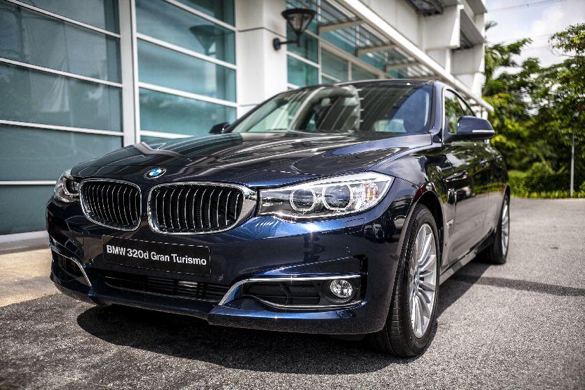 A file photo of Malaysia assembled BMW 320d Gran Turismo, June 2014 — BMW pic