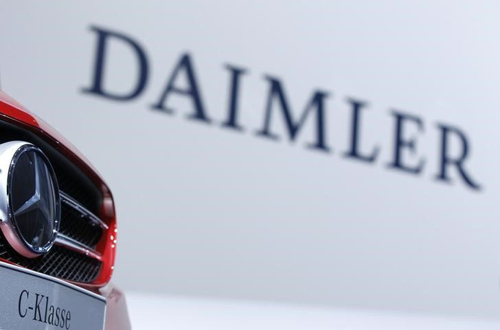 Daimler has 'reached an agreement in principle with various US authorities to settle civil and environmental claims regarding emission control systems of approximately 250,000 diesel passenger cars and vans in the United States'. ― Reuters pic