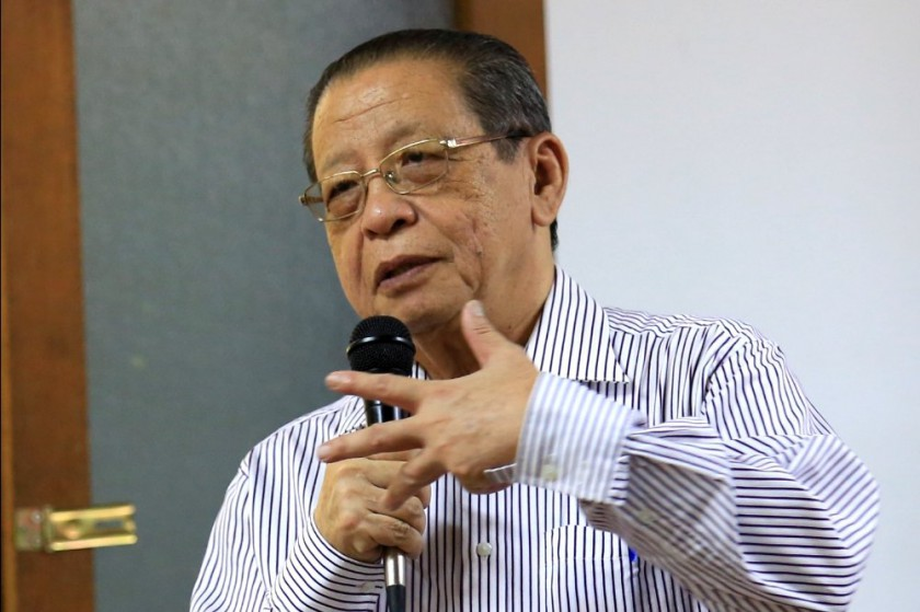 DAP MP Lim Kit Siang said it was urgent as the infection was speeding up rather than slowing down, and that the situation may spiral out of control before the scheduled sitting on March 8.— Picture by Saw Siow Feng