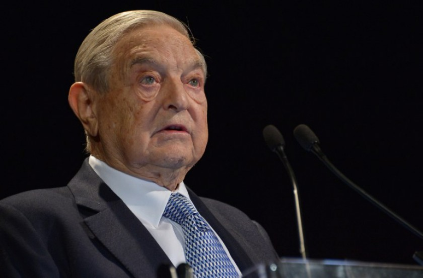 US billionaire George Soros's Open Society Foundations said it provides funds to Malaysian civil society only to 'support democratic practice' and not to remove the government. — AFP pic