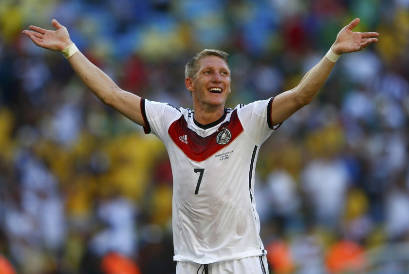 Germany's Schweinsteiger, who plays in MLS for Chicago Fire is adamant his team-mates, coached by Orlando City's James O'Connor, can prosper without kicking lumps out of the opposition. — Reuters pic