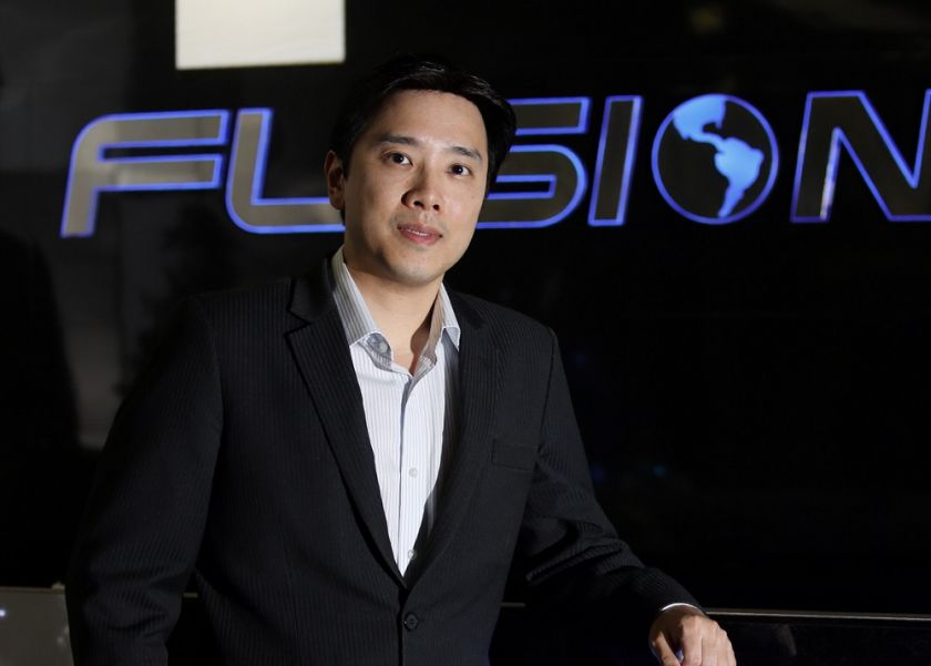 Ivan Teh, founder and managing director of AIM-listed Fusionex International Plc. — Picture courtesy of Digital News Asia