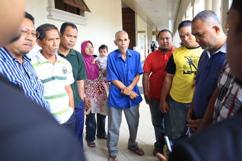 Self-professed settlers (pic) of Kampung Chubadak Tambahan lost the bid to claim ownership of the land parcel in Sentul from which they were evicted earlier this year. ― Picture by Saw Siow Feng