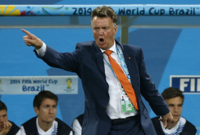 Van Gaal's second stint with the national team in 2014 saw them take third place at  the World Cup in Brazil. — Reuters pic