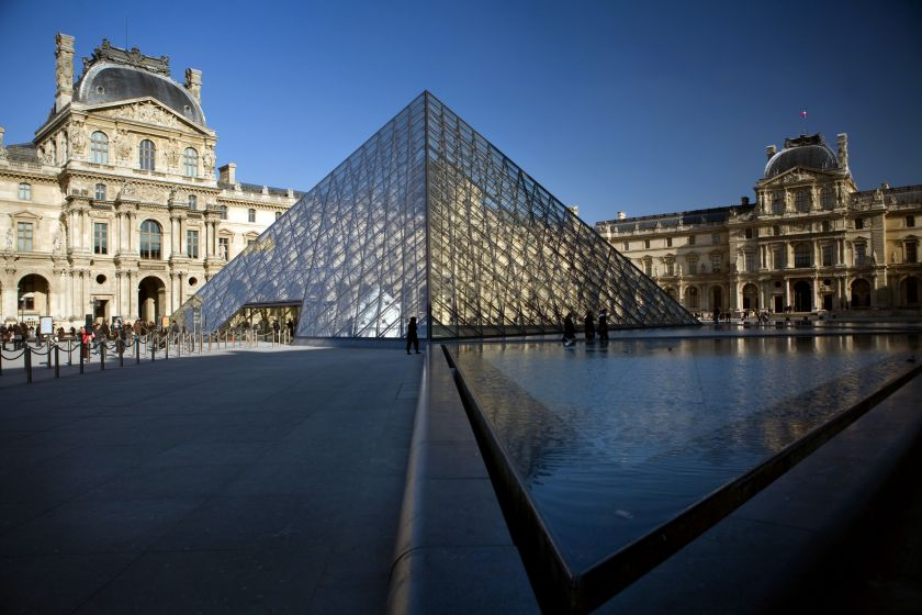 The Louvre may open for longer hours. — AFP pic