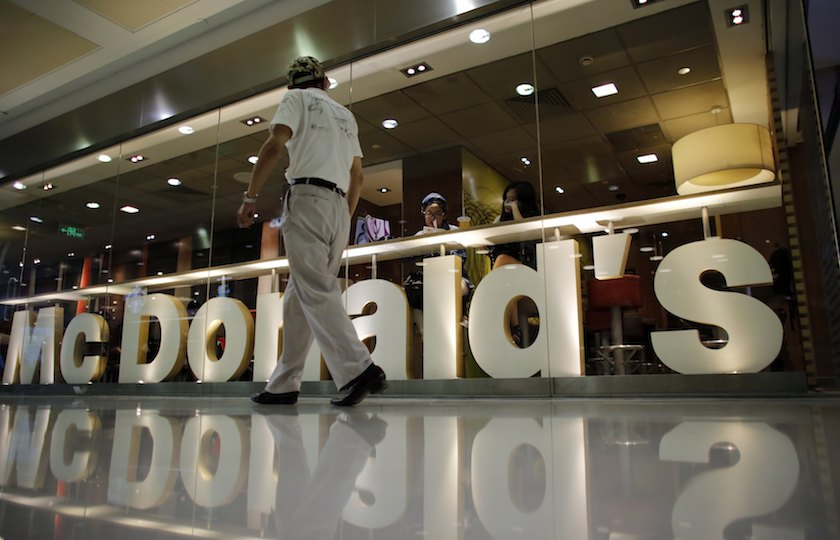 McDonald's still relies on its flagship products like the 'Big Mac', 'McNuggets' and French fries, which account for around 70 per cent of its sales in its main markets. — Reuters pic